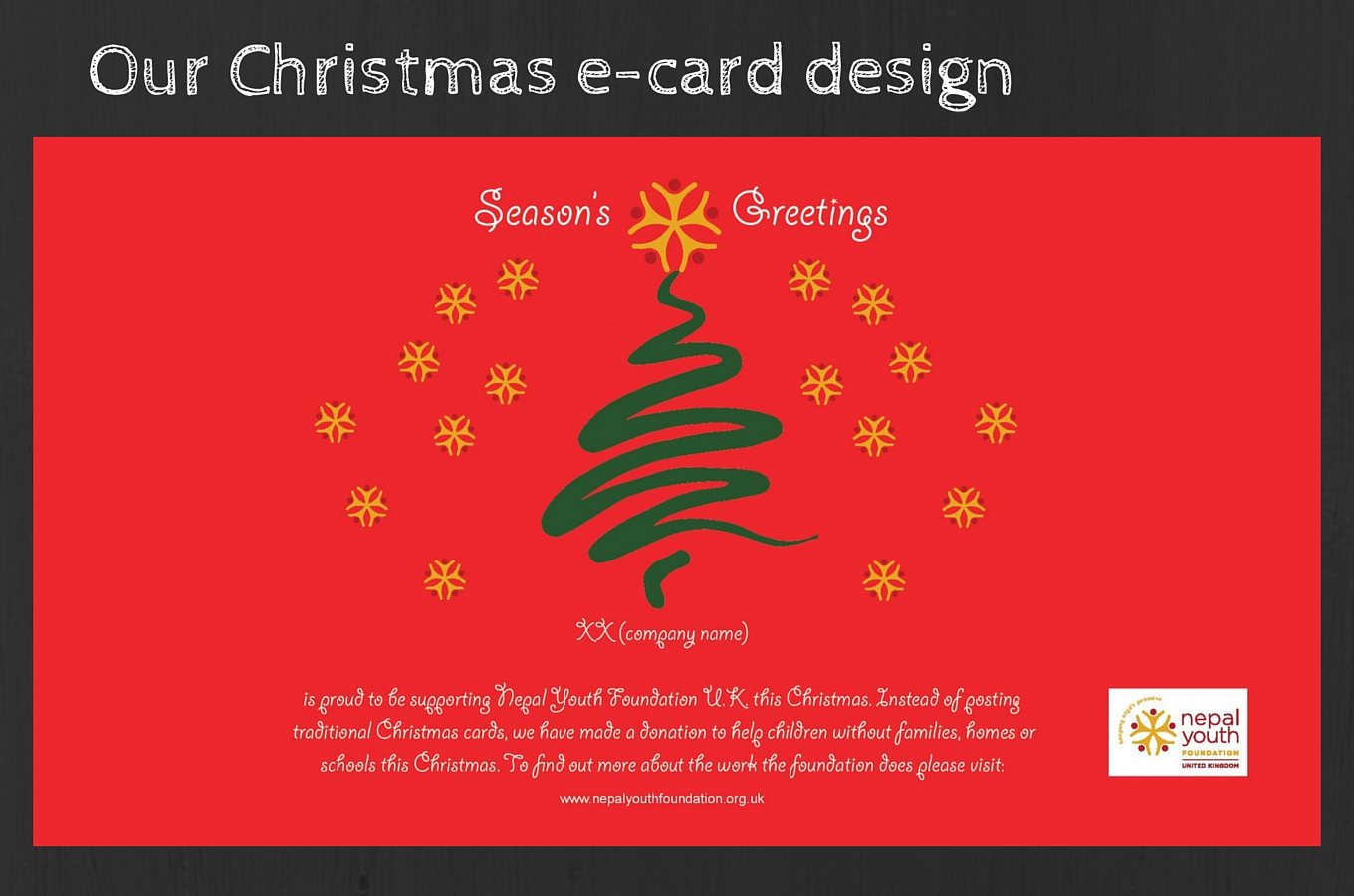 Email Christmas Cards.Christmas E Cards Launched Nepal Youth Foundation