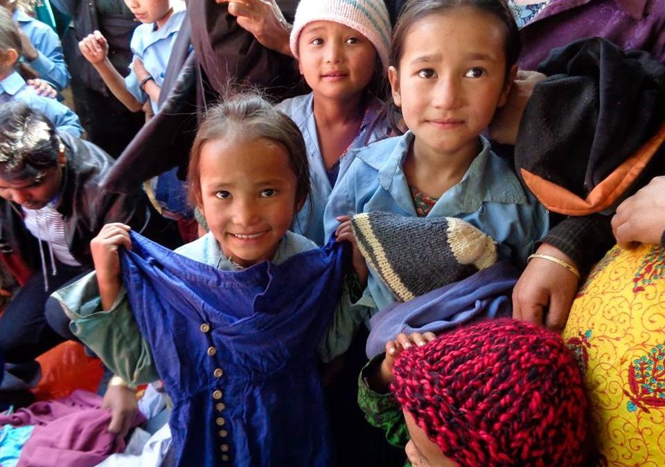 NYF Making Winter Warmer in Sindhupalchowk