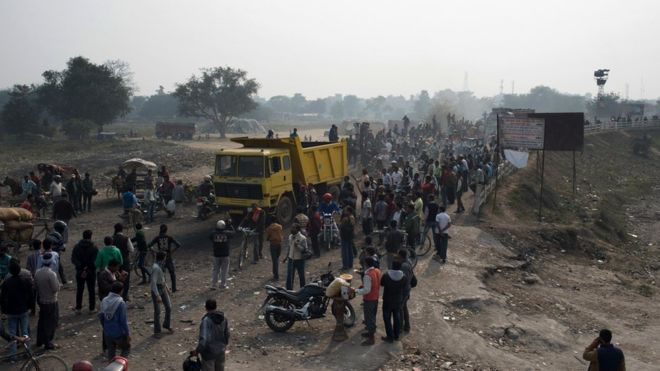 Border blockade in Nepal is lifted