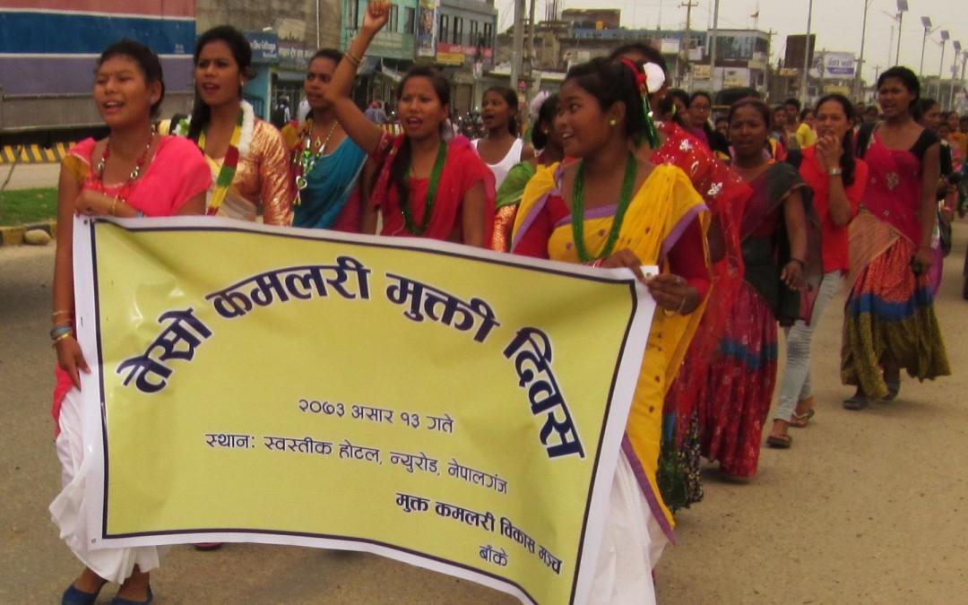 NYF celebrates Kamlari Freedom Day – 27th June