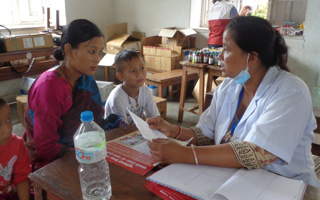 NYF runs a two day outreach health & nurition camp