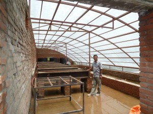 Olgapuri farm Aquaponics interior