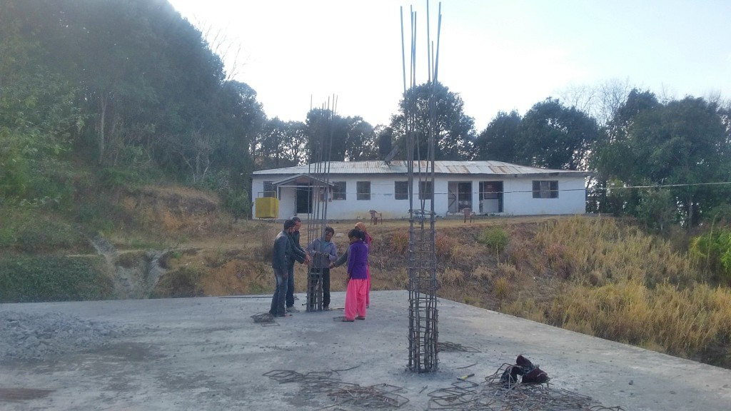 NYF begins building 17th Nutritional Rehabilitation Home in Dadeldhura