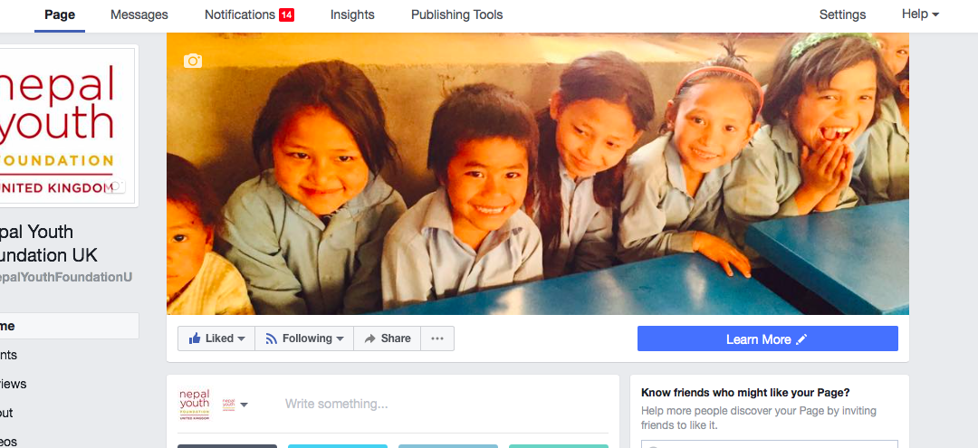 We have launched a new Facebook page!