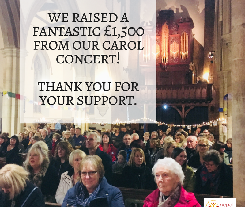 Community Christmas Carol Service – A Huge Success!