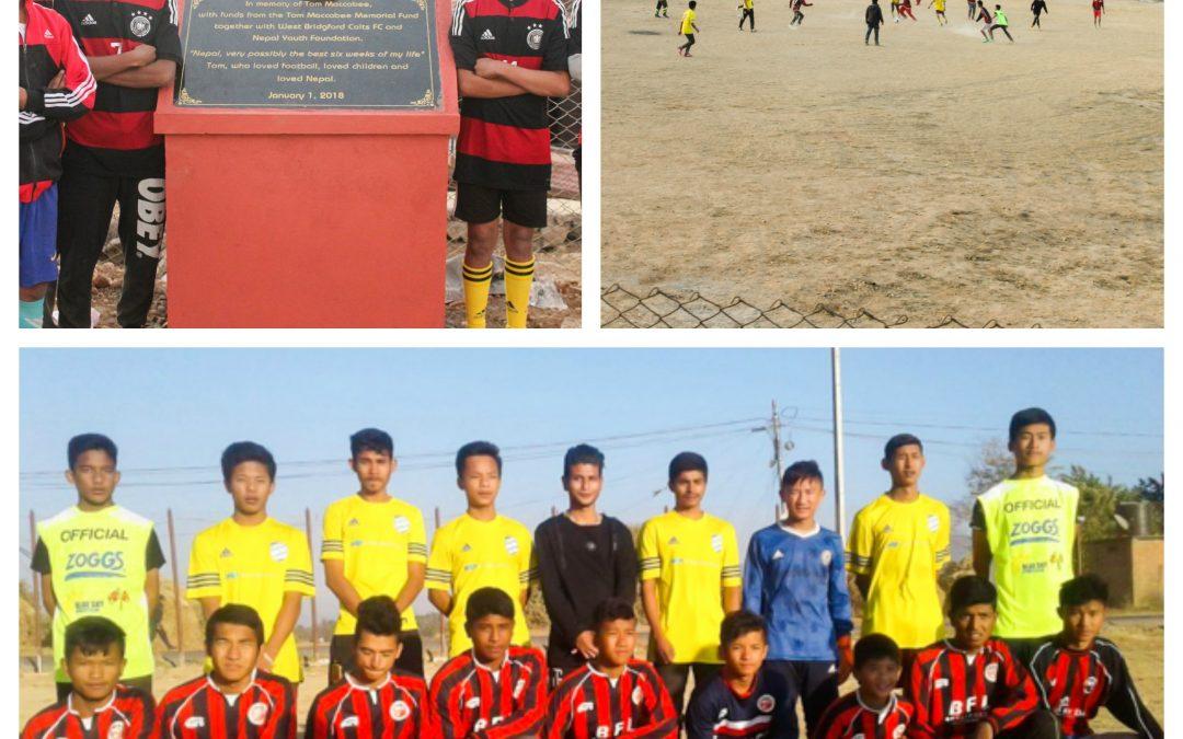 Football Field Opens in Kathmandu