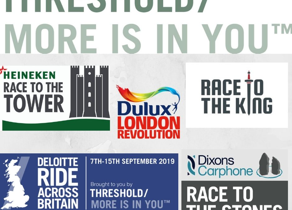 Threshold Sports Challenge Events 2019