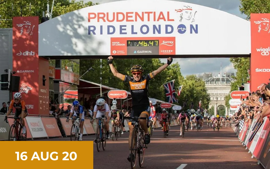 CANCELLED FOR THIS YEAR – Prudential Ride London – 16th August